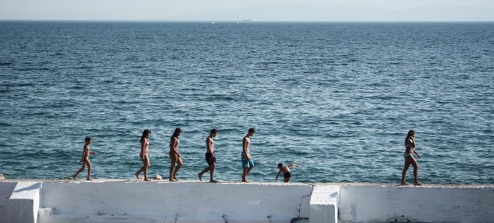 Σε υψηλές θερμοκρασίες ο καιρός τον Δεκαπενταύγουστο/ Φωτογραφία: Giorgos Zachos / SOOC