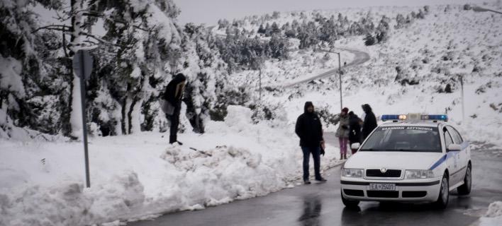 Νέο κύμα παγετού την Πέμπτη -Σε επιφυλακή όλη η χώρα για τη «Σοφία» /Φωτογραφία: Εurokinissi