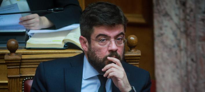Στην αντεπίθεση περνά ο Μιχάλης Καλογήρου -Απάντηση στη ΝΔ για τον νέο Ποινικό Κώδικα (EUROKINISSI/ΓΙΩΡΓΟΣ ΚΟΝΤΑΡΙΝΗΣ)