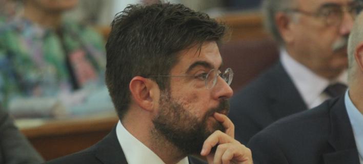 Ο υπουργός Δικαιοσύνης, Μιχάλης Καλογήρου/Φωτογραφία: Eurokinissi