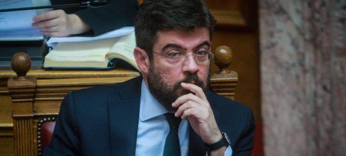 Ο Υπουργός Δικαιοσύνης, Μιχάλης Καλογήρου (Φωτο: Eurokinissi)