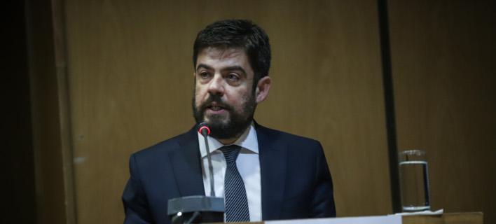 Ο υπουργός Δικαιοσύνης Μιχάλης Καλογήρου -Φωτογραφία αρχείου: EUROKINISSI/ΓΙΑΝΝΗΣ ΠΑΝΑΓΟΠΟΥΛΟΣ
