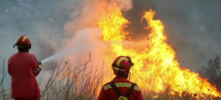 Πυρκαγιά ξέσπασε στην Καμάριζα, πάνω από την Παλαιά Φώκαια -Φωτογραφία αρχείου: Intimenews/ΧΡΥΣΟΧΟΪΔΗΣ ΓΡΗΓΟΡΗΣ