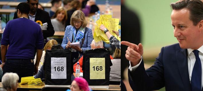 Ξεκάθαρη νίκη Κάμερον, πανωλεθρία Μίλιμπαντ -Η επόμενη ημέρα στη Μ. Βρετανία