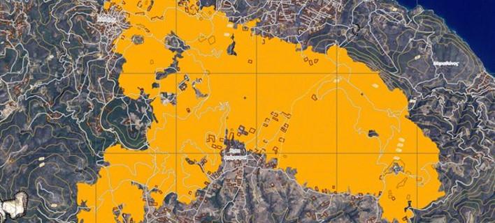 Copernicus: Σχεδόν 30.000 στρέμματα έκαψε η φωτιά στην ανατολική Αττική