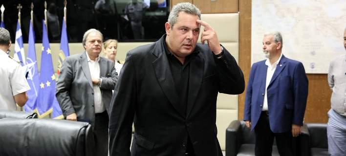 Ο Πάνος Καμμένος / Φωτογραφία: Eurokinissi