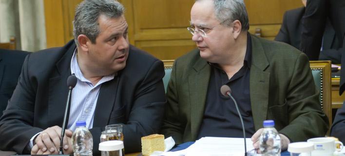 Καμμένος, Κοτζιάς /Φωτογραφία Αρχείου: Intime News-Xαλκιόπουλος Νίκος