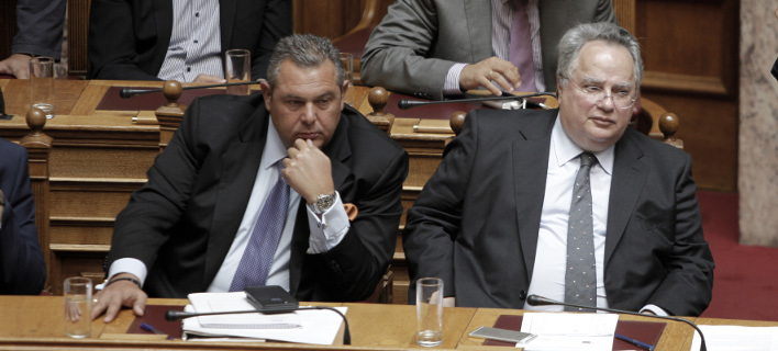 Νέα κόντρα Καμμένου-Κοτζιά ξέσπασε μετά το δημοψήφισμα στα Σκόπια / Φωτοραφία: EUROKINISSI/ΓΙΩΡΓΟΣ ΚΟΝΤΑΡΙΝΗΣ