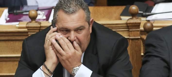 Σχέδιο εξαγοράς των βουλευτών των ΑΝΕΛ κατήγγειλε ο Καμμένος