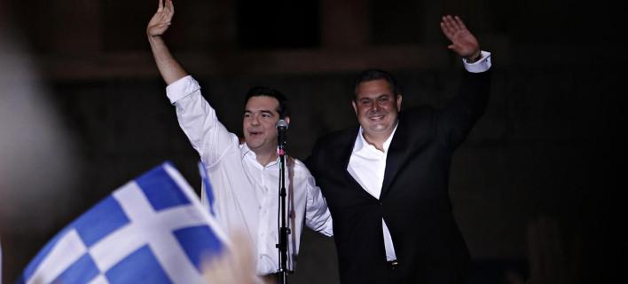 ΣΥΡΙΖΑ-ΑΝΕΛ 155 έδρες -Ετοιμάζονται να σχηματίσουν κυβέρνηση