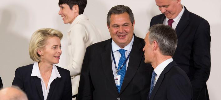 Καμμένος: Δέχομαι την εμπλοκή του ΝΑΤΟ στο Αιγαίο