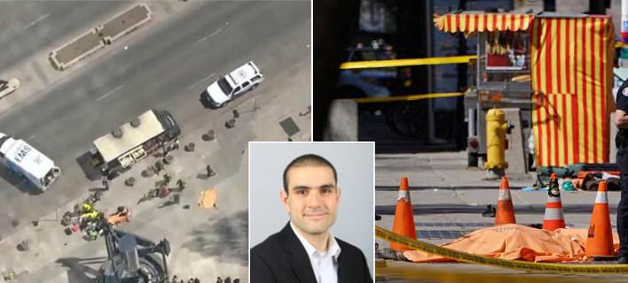 Τορόντο: O μακελάρης χτυπούσε πεζούς με το βαν επί 1,5 χλμ. -10 νεκροί [εικόνες & βίντεο]
