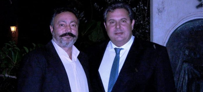 O Πάνος Καμμένος και ο Παντελής Καπαρουδάκης/ Φωτογραφία zarpanews