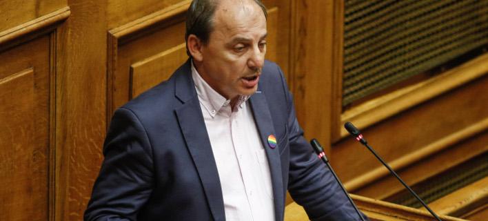 Ο βουλευτής Δράμας του ΣΥΡΙΖΑ Χρήστος Καραγιαννίδης / Φωτογραφία: EUROKINISSI