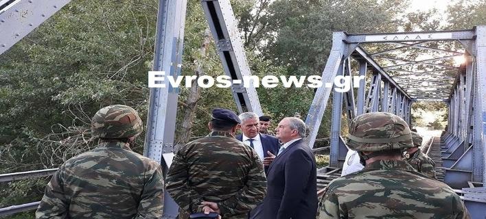 Στα ελληνοτουρκικά σύνορα ο Κώστας Καραμανλής [εικόνες]