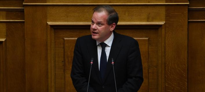 Ο βουλευτής Σερρών της ΝΔ Κώστας Καραμανλής -Φωτογραφία: Intimenews/ΒΑΡΑΚΛΑΣ ΜΙΧΑΛΗΣ