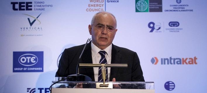 O πρόεδρος της Ελληνικής Ενωσης Τραπεζών, Νίκος Καραμούζης/Φωτογραφία: Eurokinissi