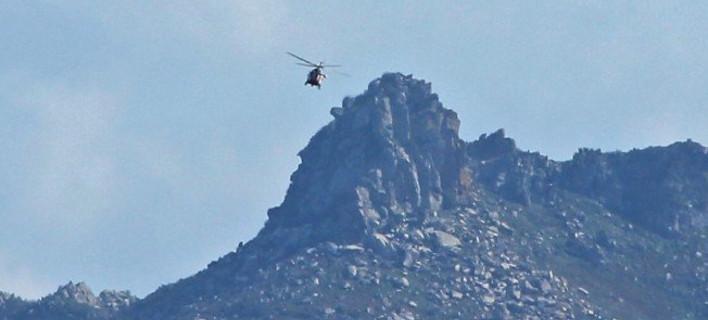 Θρίλερ με τουρκικό ελικόπτερο στα Ιμια [εικόνες&βίντεο]