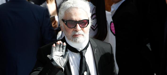 Karl Lagerfeld/ Φωτογραφία: AP