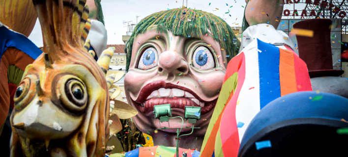 Από το περσινό καρναβάλι στην Πάτρα (Φωτο: Eurokinissi)