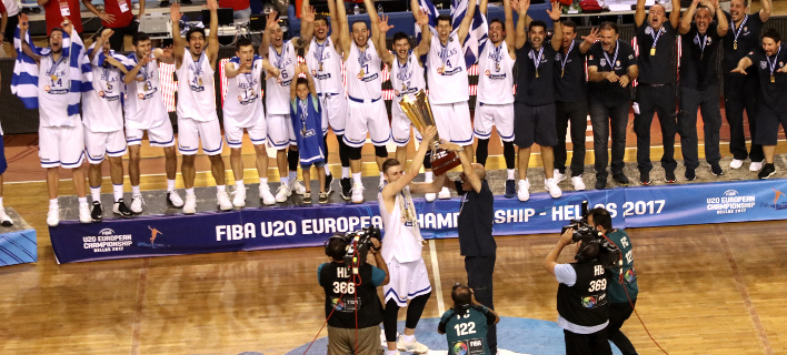Eurobasket U-20: Συγκίνηση στην απονομή -Η σπουδαία κίνηση του Χαραλαμπόπουλου