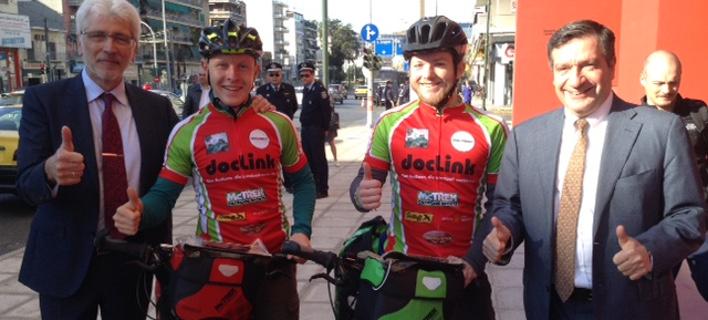 Αθήνα-Γερμανία με ποδήλατο: Μήνυμα ενότητας της Ευρώπης στο πλαίσιο της documenta [εικόνες]