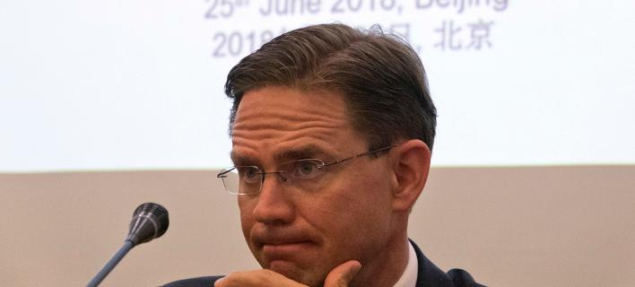 Ο αντιπρόεδρος της Ευρωπαϊκής Επιτροπής, Γίρκι Κατάινεν/ Φωτογραφία: ΑΡ