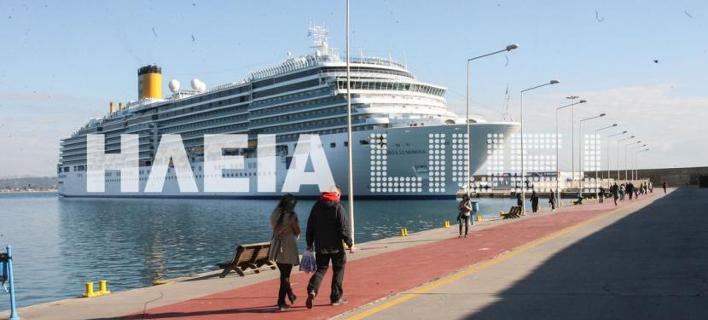 Κρουαζιερόπλοιο/ Φωτογραφία:ilialive.gr