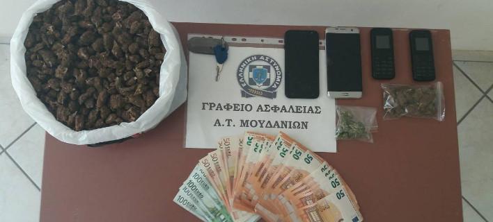 Κατασχέθηκαν ναρκωτικα, χρήματα και κινητά, Φωτογραφία: Γενική Περιφερειακή Αστυνομική Διεύθυνσης Κεντρικής Μακεδονίας