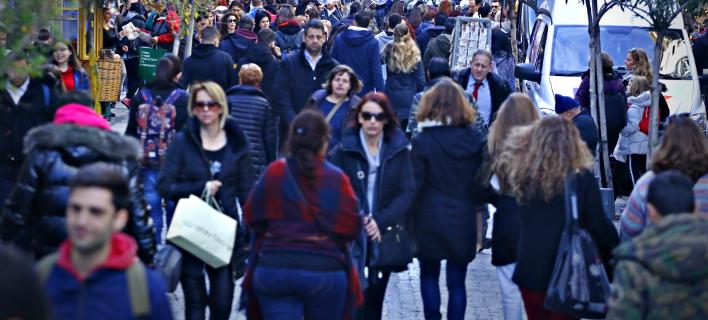 Κίνηση στα εμπορικά καταστήματα, Φωτογραφία Αρχείου: Eurokinissi