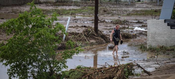 Καταστροφές από πλημμύρες/ Φωτογραφία intime