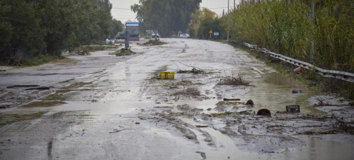 Αύξηση ζημιών από ακραία καιρικά φαινόμενα στην Ελλάδα (Φωτογραφία: EUROKINISSI)