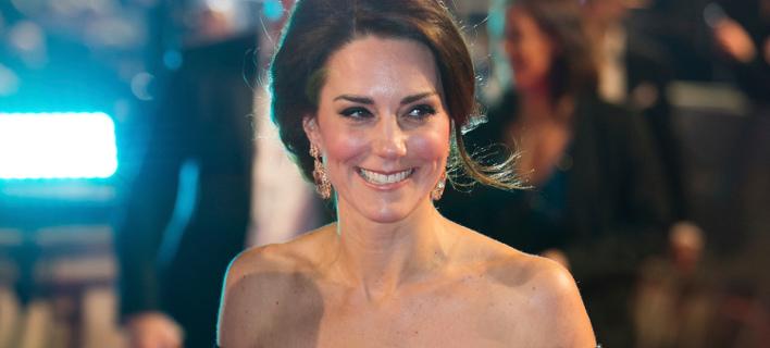 Η δούκισσα του Κέμπριτζ στην περσινή απονομή των βραβείων BAFTA. Φωτογραφία: AP