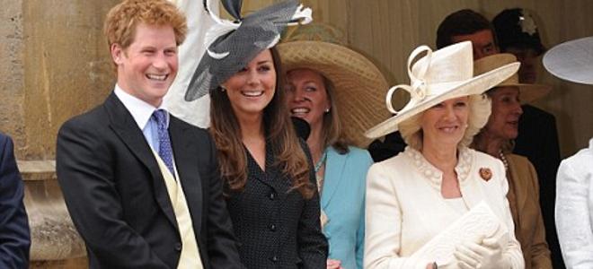 Οι πιο καλοντυμένοι του κόσμου η Κέιτ Μίντελτον και ο πρίγκηπας Χάρι