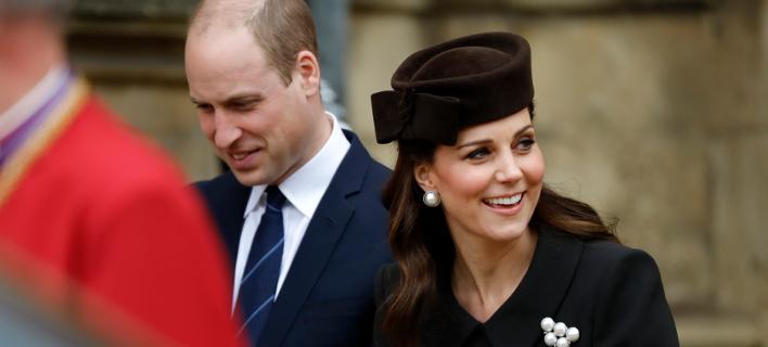 Πρίγκιπας Γουίλιαμ-Κέιτ Μίντλετον /Φωτογραφία: ΑΡ