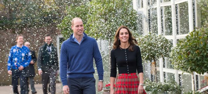 Ο πρίγκιπας Γουίλιαμ και η Κέιτ Μίντλετον /Φωτογραφία: Splashnews/Ideal Image