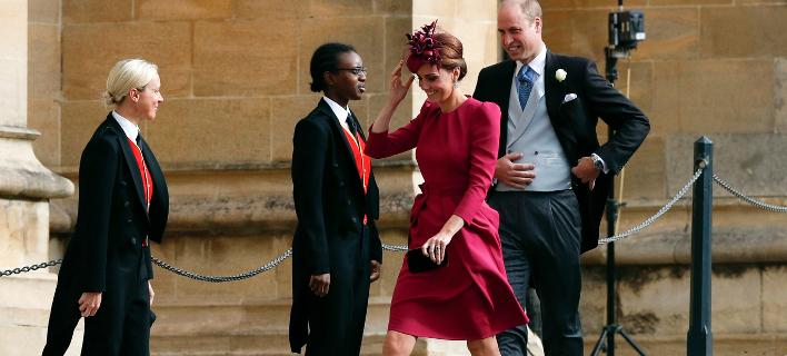 Ο δούκας και η δούκισσα του Κέμπριτζ. Φωτογραφία: AP