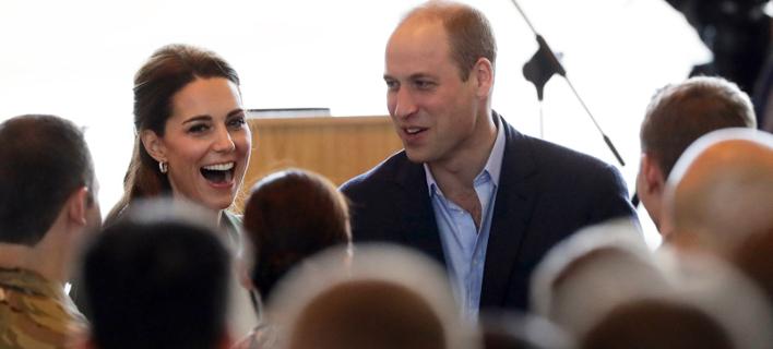 Κέιτ Μίντλετον και Πριγκιπας Γουίλιαμ στην Κύπρο