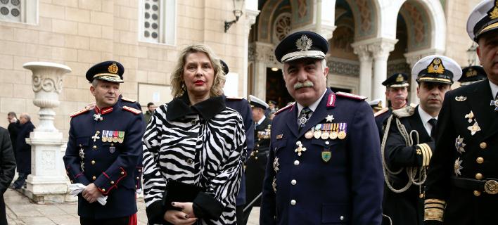Η υφυπουργός Προστασίας του Πολίτη Κατερίνα Παπακώστα- φωτογραφία intimenews
