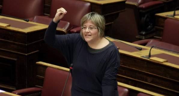 Παραιτήθηκε η βουλευτής του ΣΥΡΙΖΑ Βασιλική Κατριβάνου