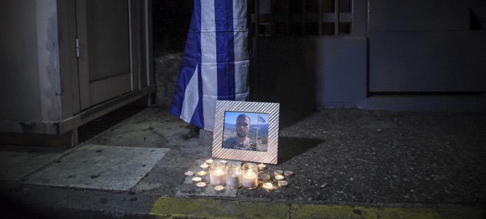 Μνημόσυνο για τον Κατσίφα στη Λέσβο την Κυριακή/ Φωτογραφία: EUROKINISSI