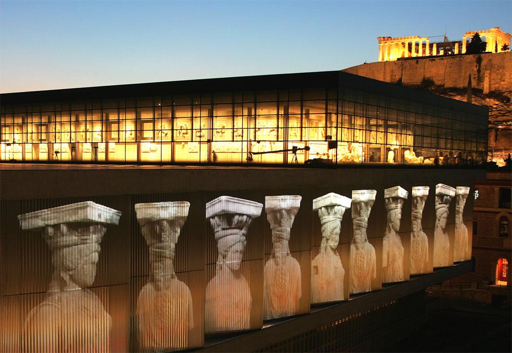 Βραδυνή ξενάγηση στο Μουσείο της Ακρόπολης την Παρασκευή!