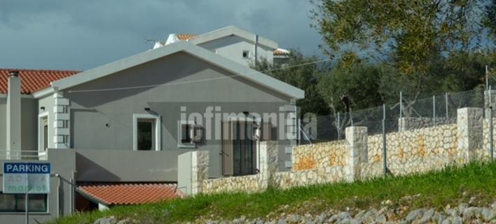 Το σπίτι που εκτυλίχθηκαν τα γεγονότα στην Κεφαλονιά