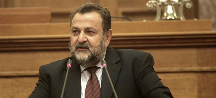 Ο βουλευτής Ηρακλείου του ΚΙΝΑΛ Βασίλης Κεγκέρογλου /Φωτογραφία: Εurokinissi