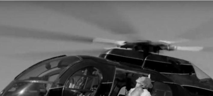 Η Κέιτ Μος ξυπνά φαντασιώσεις- Τόπλες σε ελικόπτερο [εικόνες]
