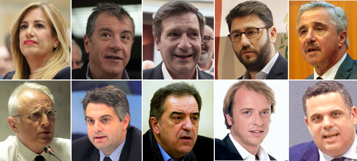 Η μάχη για την ηγεσία της Κεντροαριστεράς -Γεννηματά και Θεοδωράκης τις περισσότερες υπογραφές