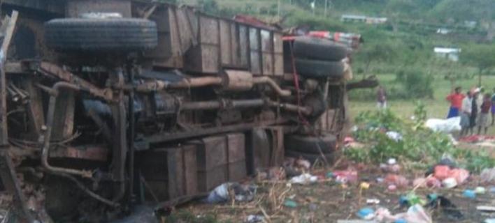 Τουλάχιστον 42 νεκροί σε τροχαίο με λεωφορείο/Φωτογραφία: Twitter