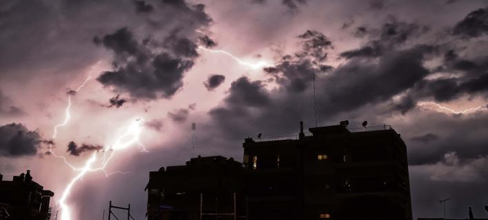 Κεραυνοί/ Φωτογραφία: Eurokinissi- ΤΡΥΨΑΝΗ ΦΑΝΗ
