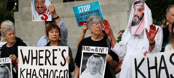 Διαδήλωση στην Ουάσιγκτον για την τύχη του δημοσιογράφου. Φωτογραφία: AP Photo/Jacquelyn Martin, File