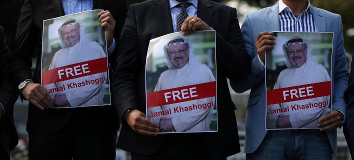Ο διεθνής σάλος από την δολοφονία του Κασόγκι στις 2 Οκτωβρίου δεν έχει ακόμη κοπάσει (Φωτογραφία: ΑΡ/Emrah Gurel)